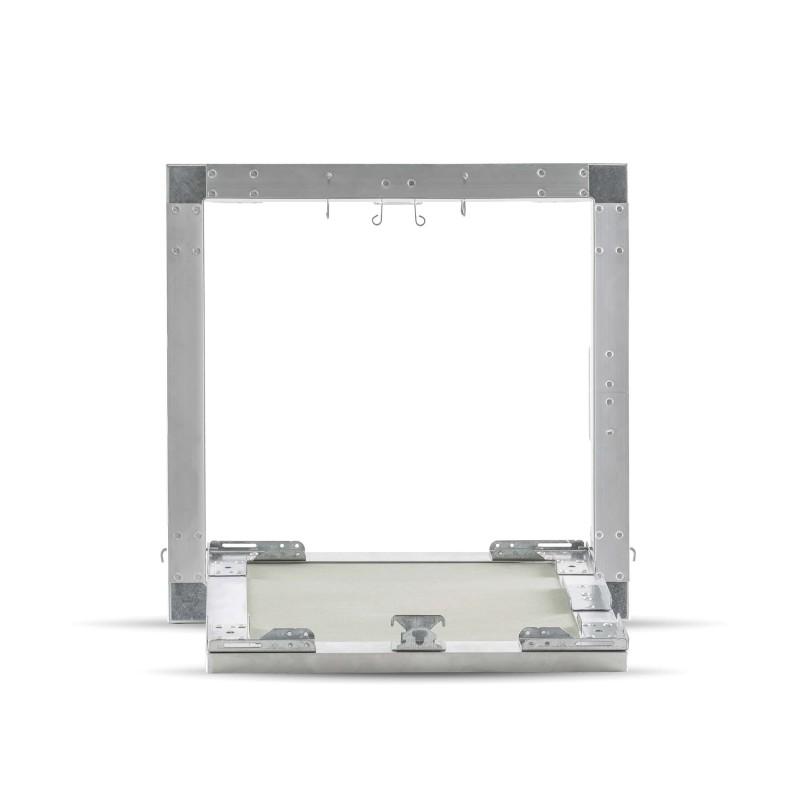 trappe de visite mod le 30x30 13 mm eco. Black Bedroom Furniture Sets. Home Design Ideas