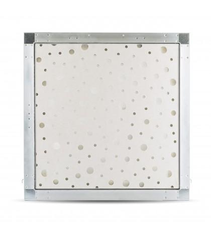 trappe de visite trappe de visite 40x40 perforé 8/15/20R 13mm voile blanc