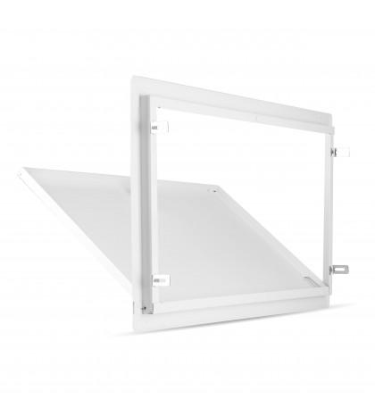 trappe de Visite en tôle d'acier galvanisé avec clé carrée modèle 30x60