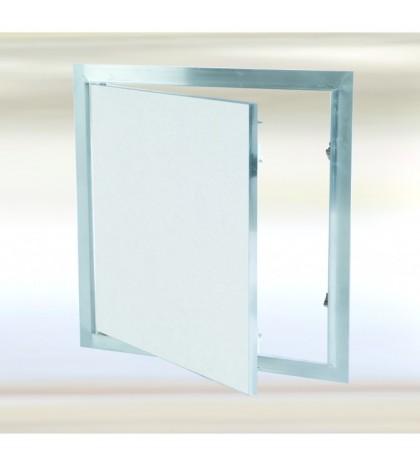 Système F1 - 300300 / 150 mm Trappe en aluminium avec trappe fixe