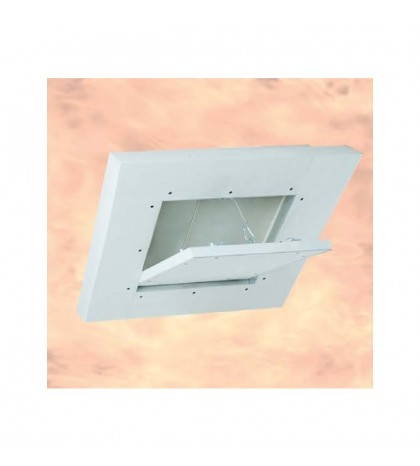 System F6 Trappe EI-120 / 500 x 500 mm / 50 mm GKF / Plafond