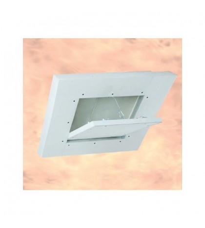 System F6 Trappe EI-120 / 200 x 200 mm / 50 mm GKF / Plafond