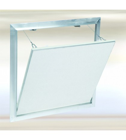 Système F2 Alu 1000x400 mm. Plaque Hydro 15 mm Plaque à vis. Large fermeture latérale.