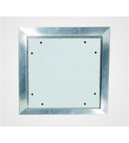 Système F6 Trappe de visite Alu EI-60/ 200 x 200 mm / 30 mm GKF / Plafond