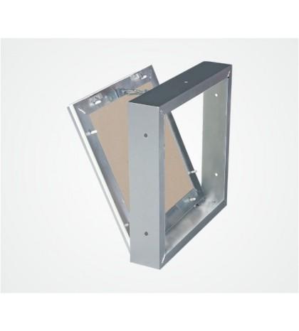Système MW trappe amovible pour murs en maçonnerie 400X400 mm, plaque hydro 12,5 mm