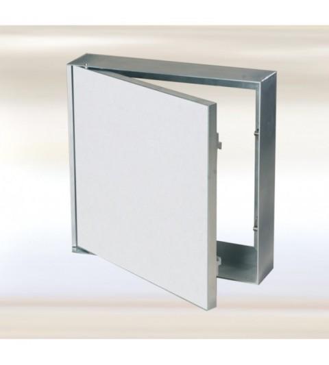 Système MWS trappe fixee pour murs en maçonnerie 200X200 mm, plaque hydro 12,5 mm