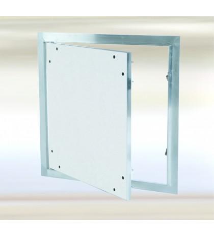 Système F1 - 800800 / 12,5mm Trappe en aluminium avec trappe fixe