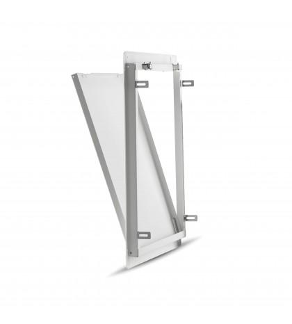 trappe de Visite en tôle d'acier galvanisé modèle 60x60 EUROPA